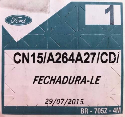fechadura porta ecosport 12/ t. esquerda cn15a264a27cd +
