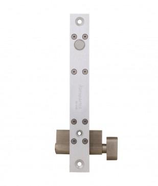 fechadura solenoide fail secure/safe com chave fs1010