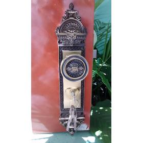 Fechadura Tetra Colonial  Em Latão Com 3 Chaves