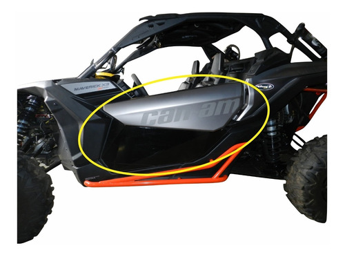 fechamento de porta - can-am maverick x3