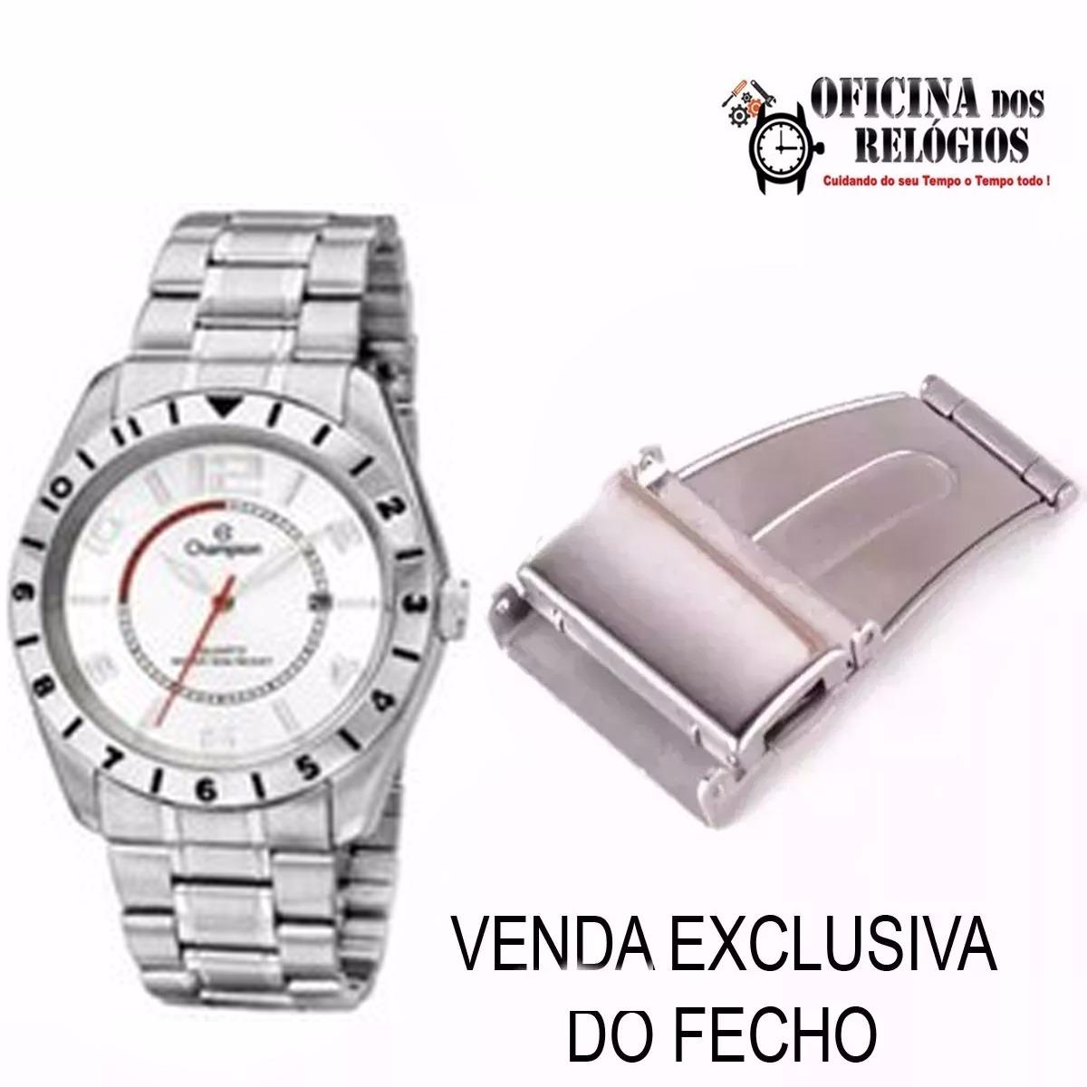 f801a9934c5 Fecho P  Relogio Champion Ca30187 Universal Frete Grátis - R  28