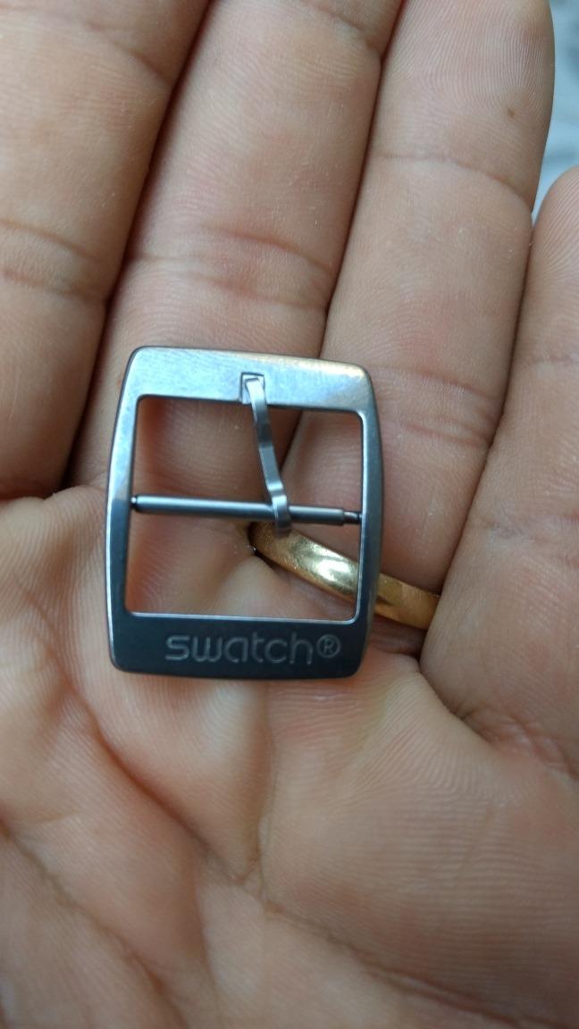 11421d64bac Fecho Relógio Swatch Assinado Original - R  50