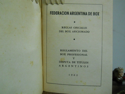 federacion argentina de box-reglamento y titulos-1962-n°0421
