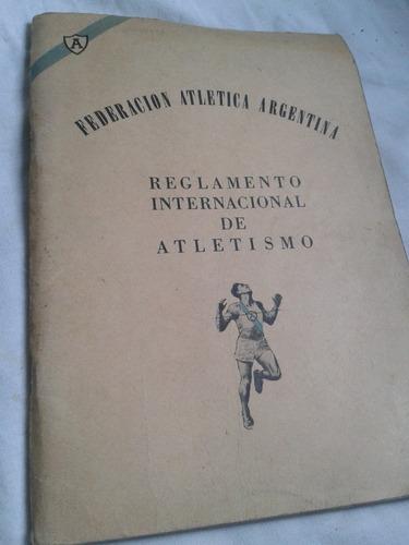 federacion atletica argentina atletismo envios mdq