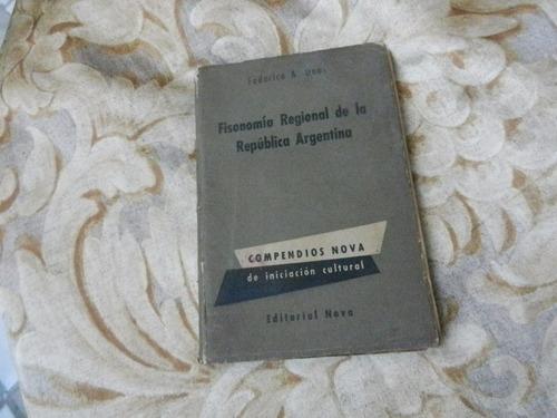 federico daus fisonomía regional de la república argentina