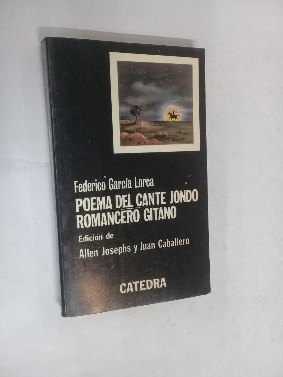 Federico Garcia Lorca Poema Del Cante Jondo Edit Catedra 25000