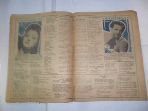 fedora cabral el alma que canta francisco lomuto 1946 tango