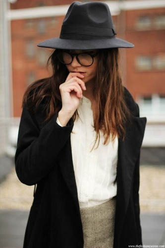 fedora feminino chapéu