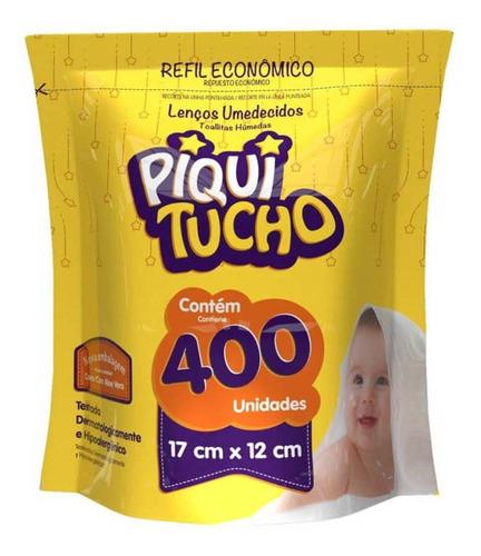 feelclean piquitucho lenços umedecidos refil c/400