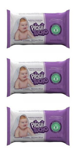 feelclean piquitucho pratic lenços umed c/96 (kit c/03)