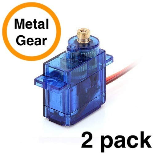 feetech fs90mr (paquete de 2) - 360 ° de rotación   servo ro