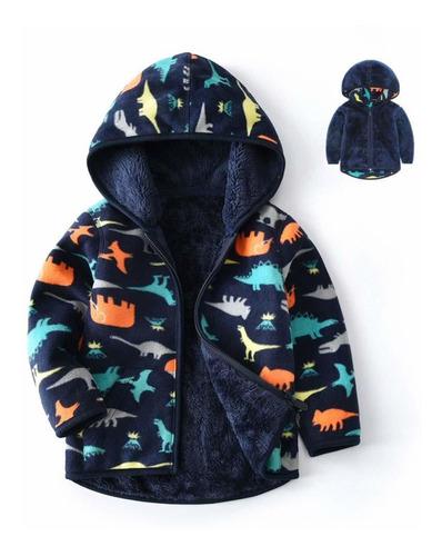feidoog - chaqueta de forro polar con capucha para bebé y