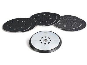 fein 63806195020 4-1 / 2 pulgadas lijado pad con papel para