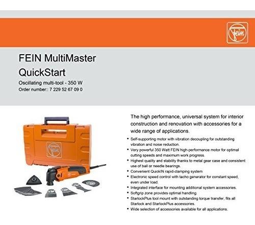 Fein Fmm350qsl Multimaster Quickstart Starlockplus Multiherr