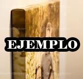 felino leon bastidor tela canvas de 120x60 cm exelente