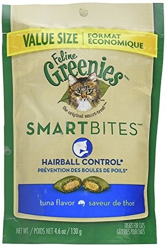 felinos verdes smartbites control de bola de atún atún (4.6