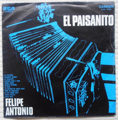 felipe antonio - el paisanito ( l p uruguay - bandoneón)