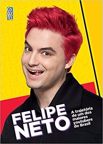 felipe neto livro youtuber - frete 8 reais