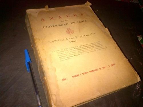 feliu cruz luis galdames homenaje a vicuña mackenna 1931