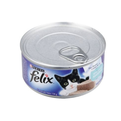 félix sensaciones marinas 156 gramos para gatos hc.