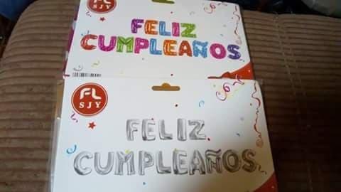 feliz cumpleaños + te amo