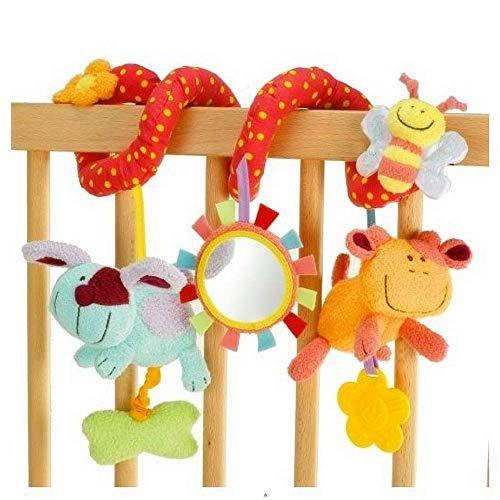 feliz mono 4 estilos juguetes de bebe suave colgante de coch