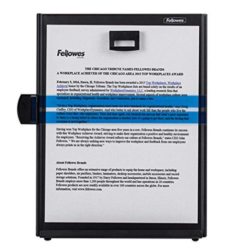 fellowes kopy-aid black letter copyholder  11053