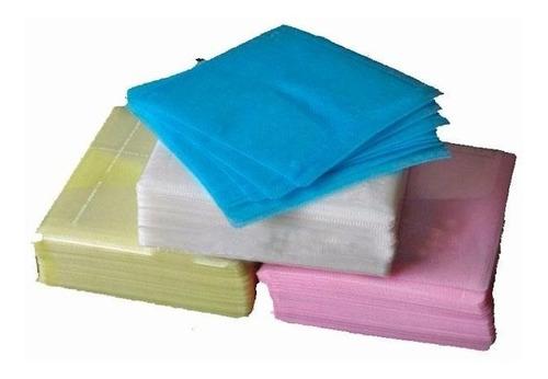 felpas para cd paquete por 100 unidades doble cara