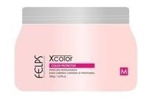 felps profissional xcolor máscara 250gr cabelos coloridos