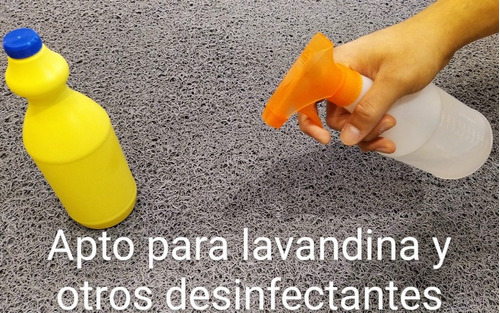 felpudo barrera sanitaria pvc 70x50 desinfectante sanitizant