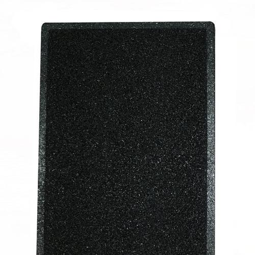 felpudo de rulo en pvc 1106 negro 60x40cm
