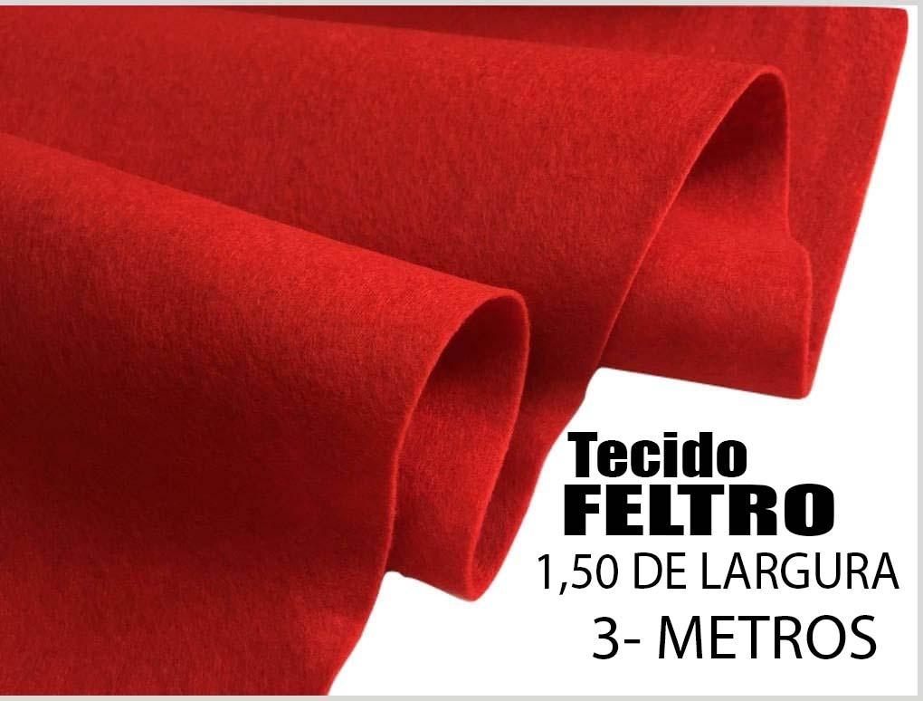 Feltro Tecido Vermelho Artesanato 1 a9ae0330d90