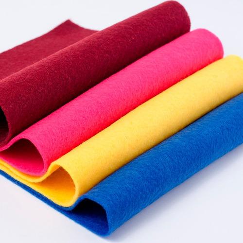 feltro tecido vermelho artesanato 1,50 largura - metros 3