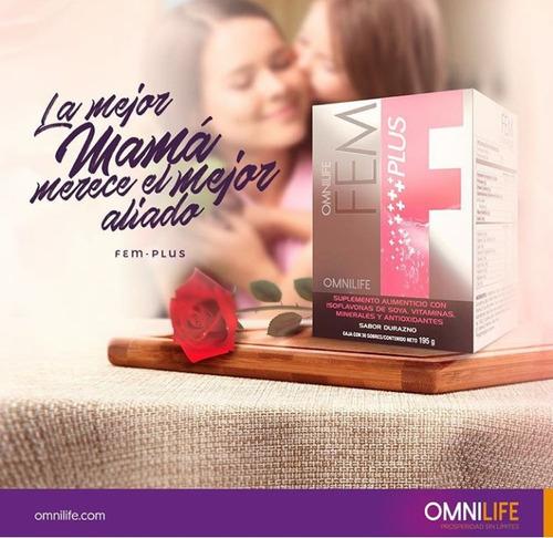 fem plus omnilife hormonas femeninas(no engorda)