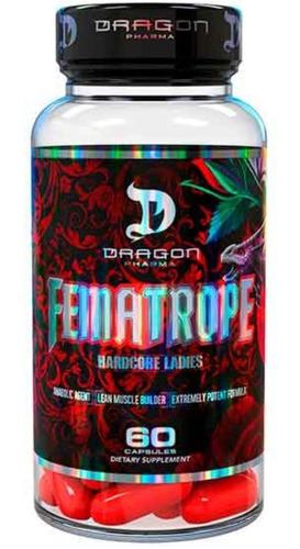 fematrope - dragon pharma - 60 caps - pre hormonal feminino