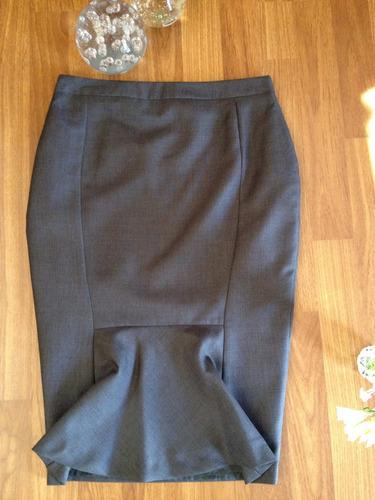 femenina y coqueta falda park´s modelo lapiz talla 36