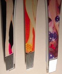 femeninas pinzas depilar.estampada.kawaii,retro chic.oferta