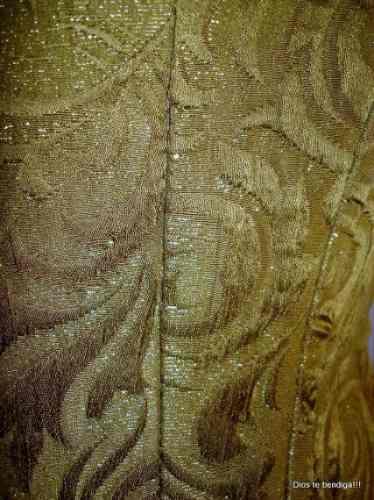 femenino corse brocato dorado ts/m