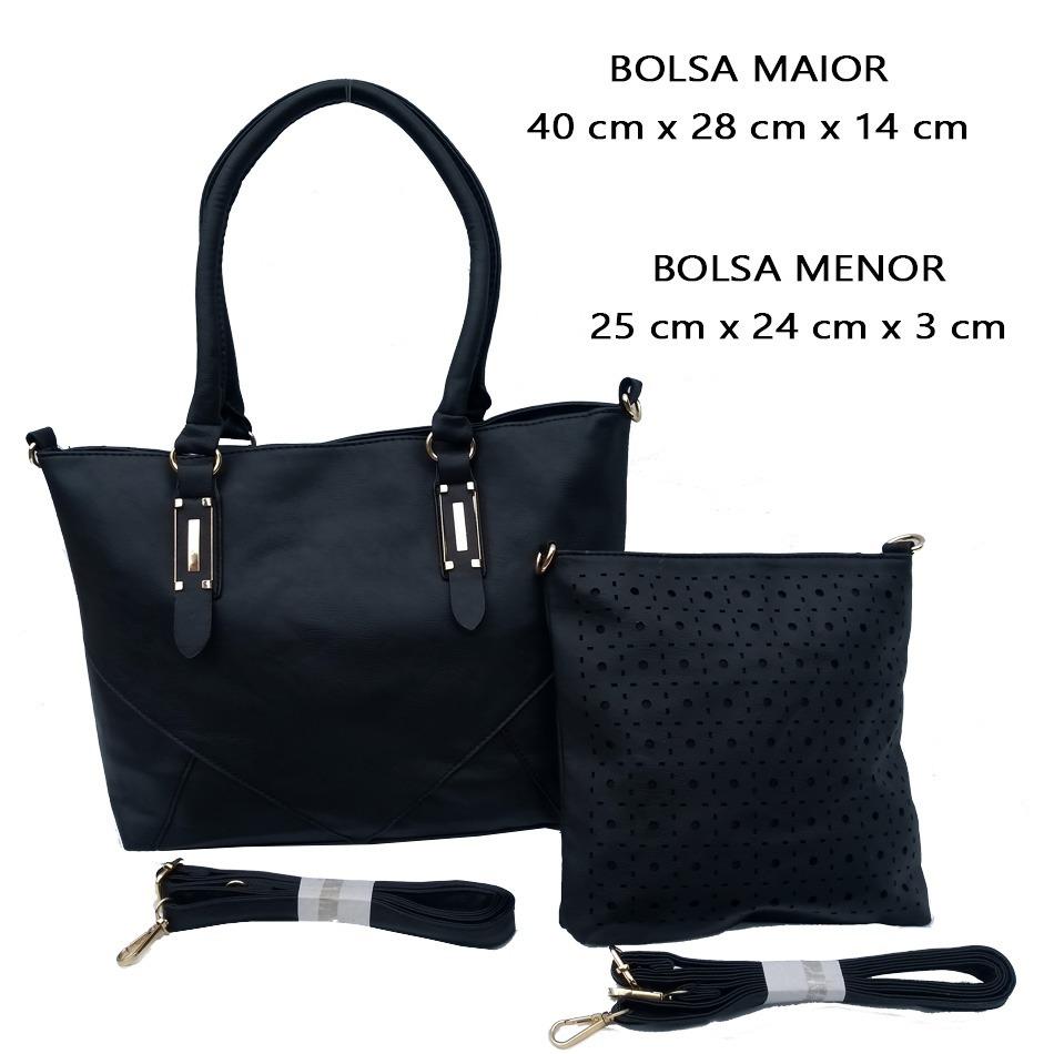 11cf1325b Carregando zoom... kit de bolsas feminina 2 peças bolsa barata fg