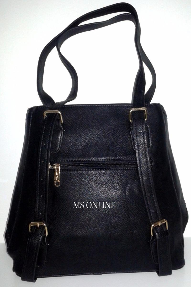 344d72d30900e Bolsa Que Vira Mochila Feminina Couro - R  149