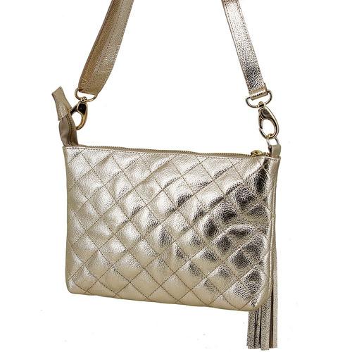 d1378b22c8 Bolsa Feminina Luxuosa Em Couro Legitimo Pequena Oliver Mou - R  167 ...