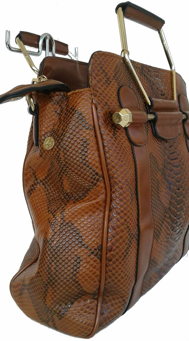 Bolsa Executiva Feminina Em Couro : Bolsa feminina executiva marrom luxo quadrada tiracolo