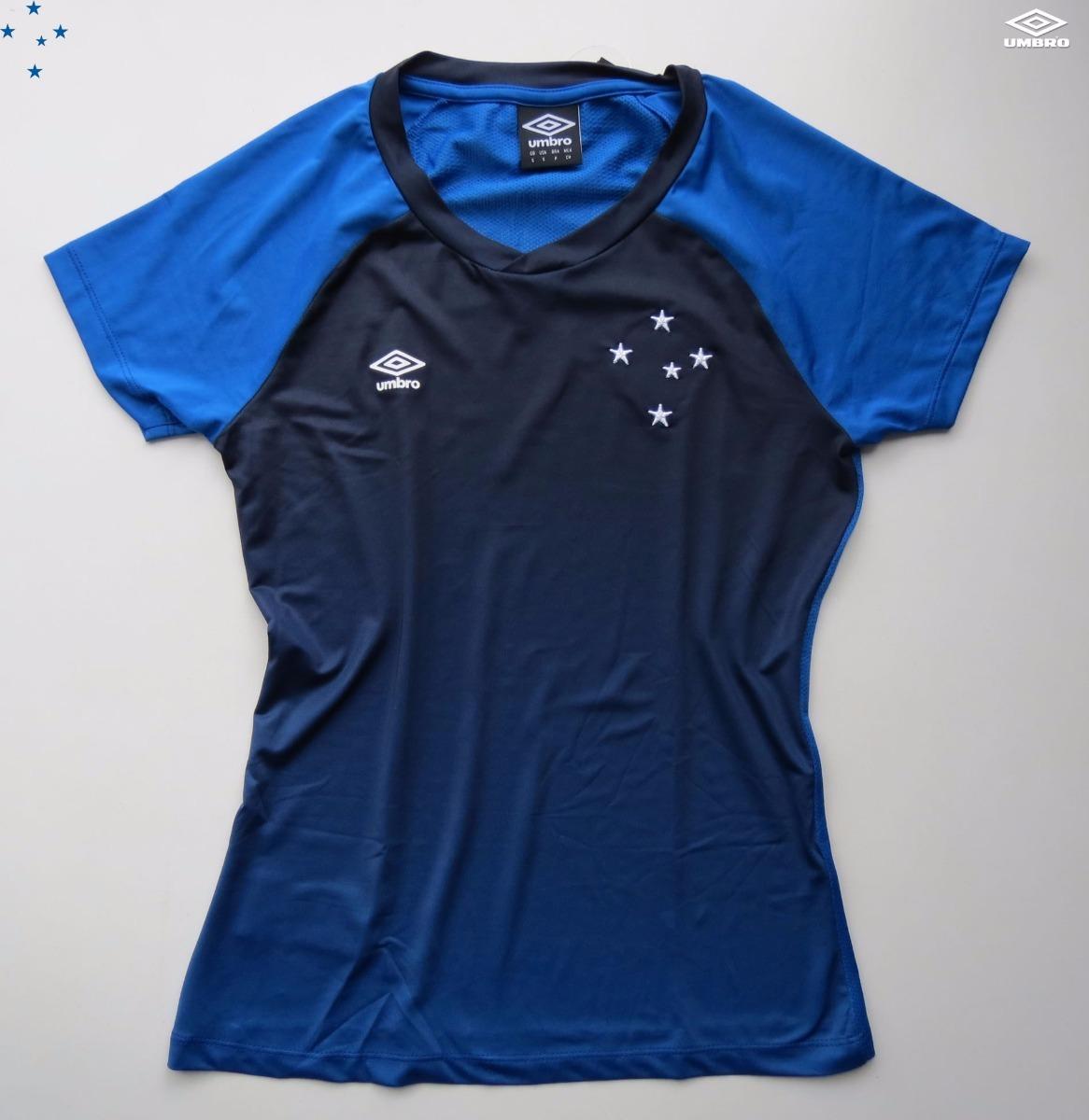 10d16fcd13 Camisa Feminina Do Cruzeiro Umbro 2018 Oficial - R  99
