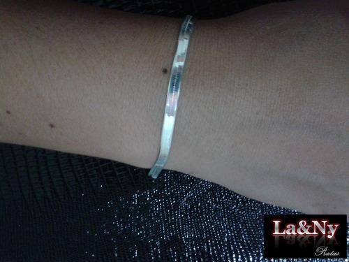 feminina prata pulseira