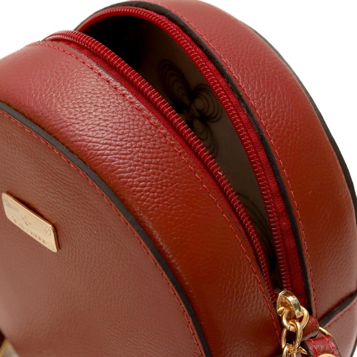 f77d5610a Carregando zoom... bolsas femininas redonda barata em couro legítimo
