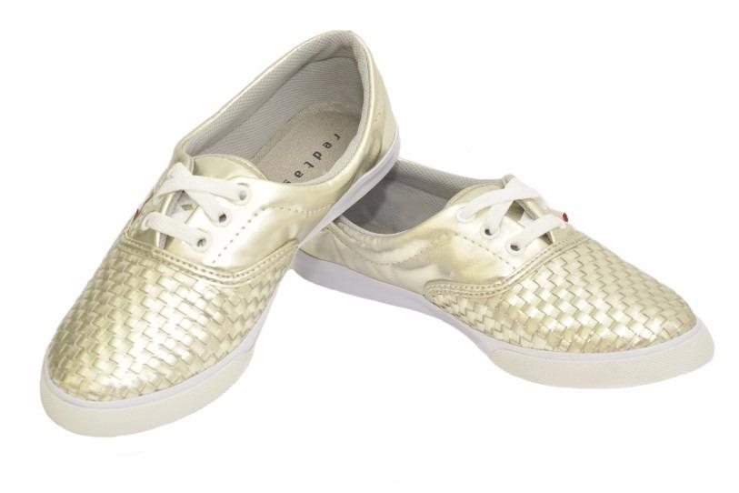 29e91bfa1 Carregando zoom... sapato feminino alpargata com cadarço tresset dourada