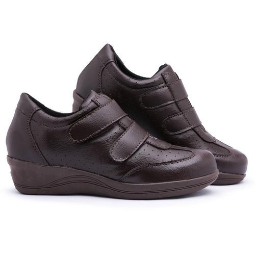 c3d9a3291ea Sapato Tênis Feminino Anabela P idosas - Preço Baixo Oferta - R  89 ...