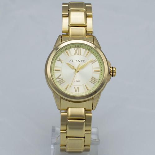 feminino atlantis relógio