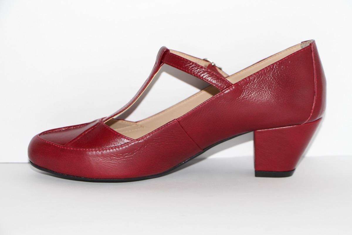 62371f7c6d Carregando zoom... sapato feminino boneca dança de salão 5cm couro legítimo  r6