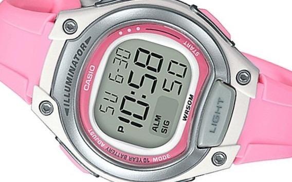 d84e2a21aa1 feminino casio relógio · relógio feminino casio digital esportivo 50atm lw- 203-4avdf